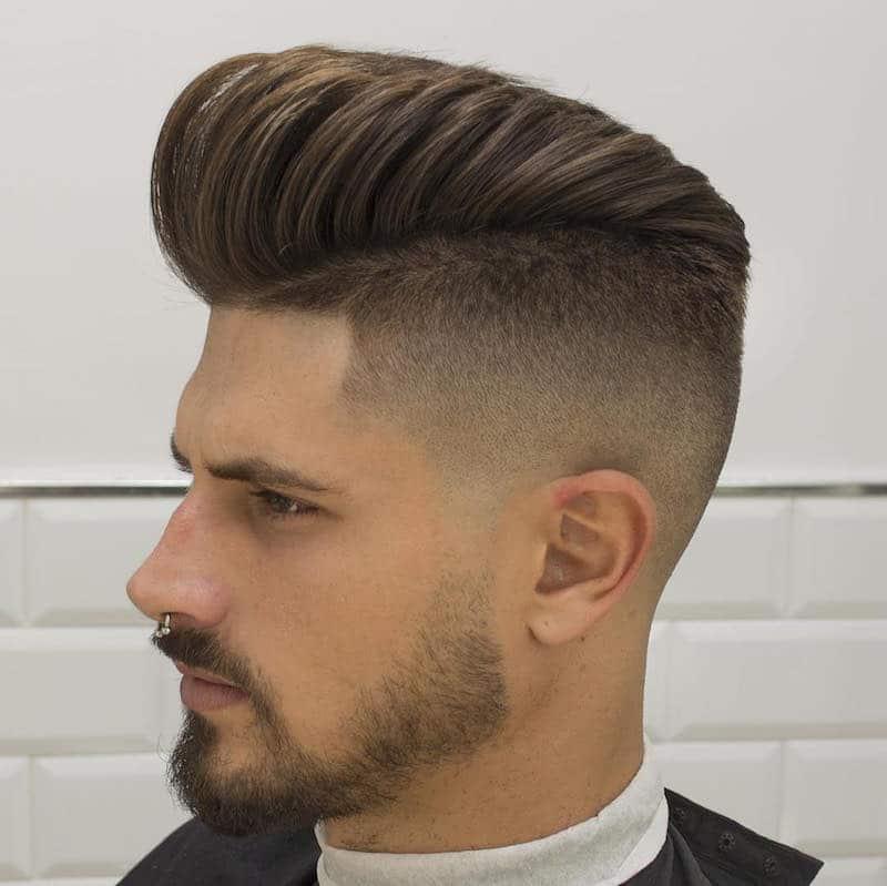 cortes de cabelo masculino com barbas homens que se cuidam 4