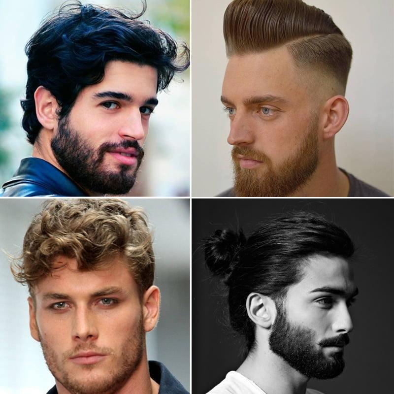 cortes de cabelo masculino com barbas homens que se cuidam 6