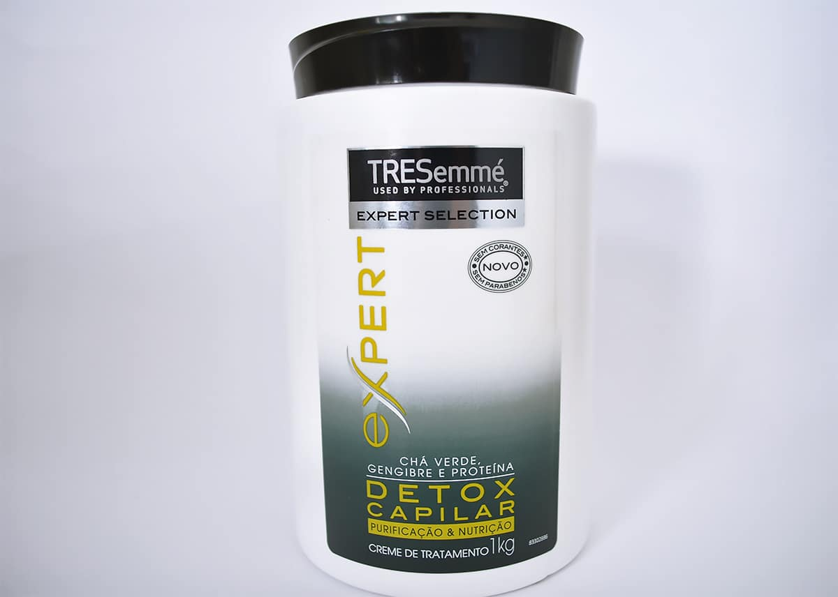 1 2 Shampoo Tresemmé Detox Capilar Homens que se cuidam