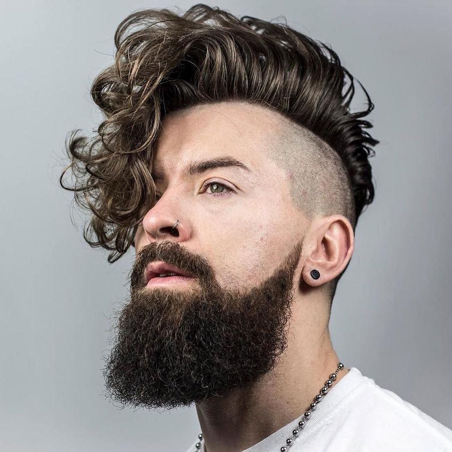 10 cortes de cabelo masculino ondulado e cacheado