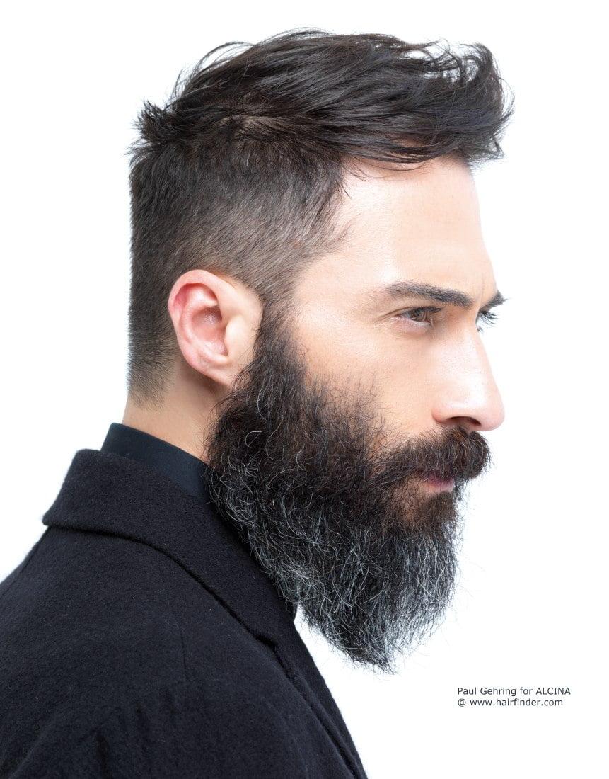 2 estilos de barba homens que se cuidam
