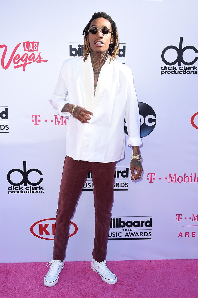 Wiz Khalifa Billboard Music Awards 2016 homens que se cuidam