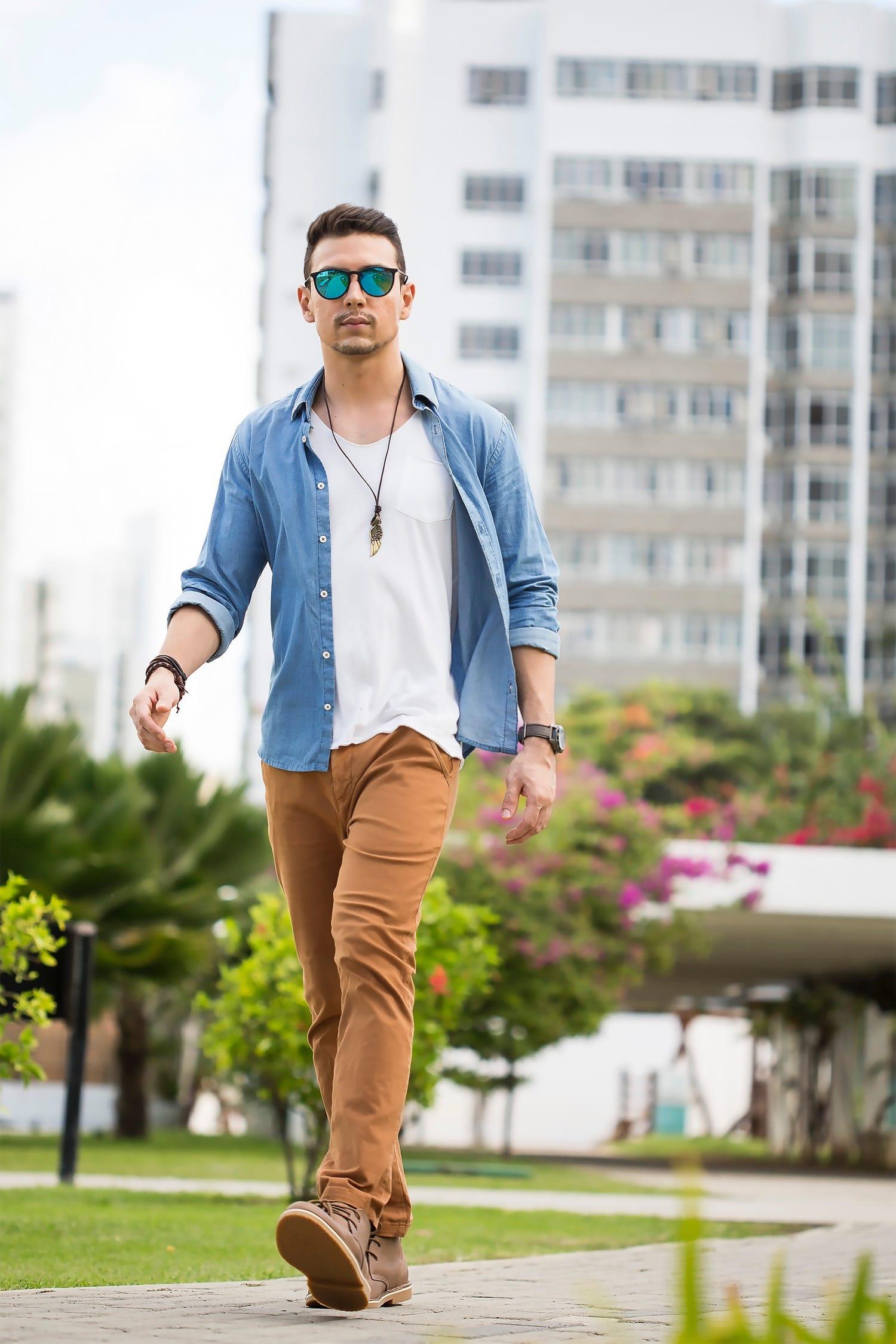 1 Juan Alves poá e chino moda masculina homens que se cuidam