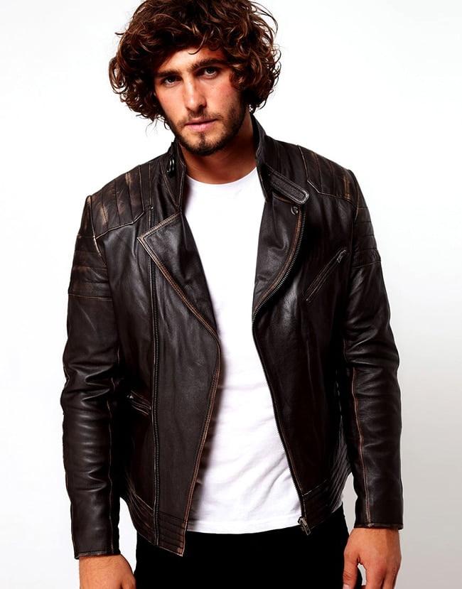 1 como usar jaqueta de couro