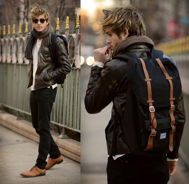 3 3 como usar jaqueta de couro