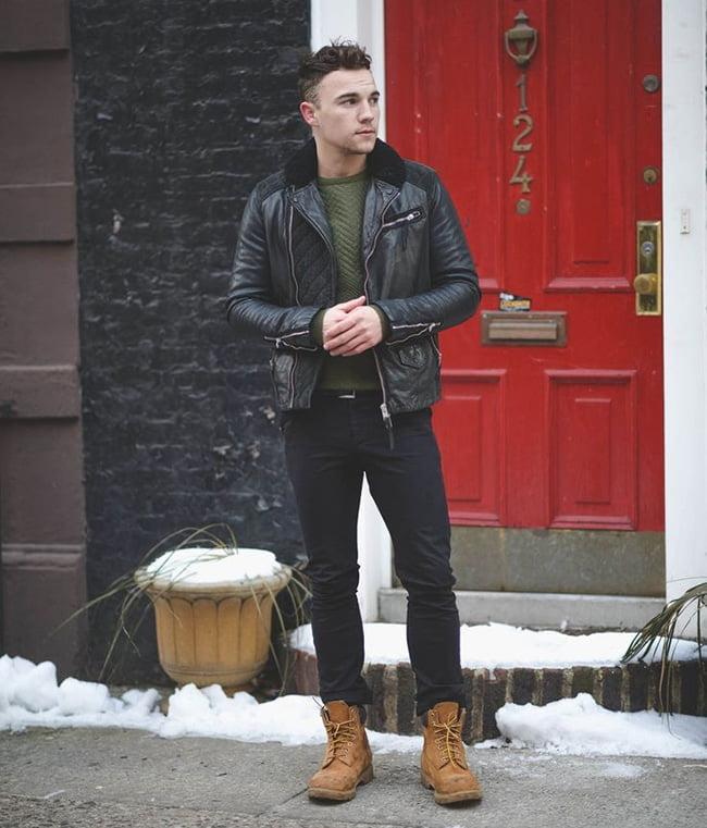 4 como usar jaqueta de couro