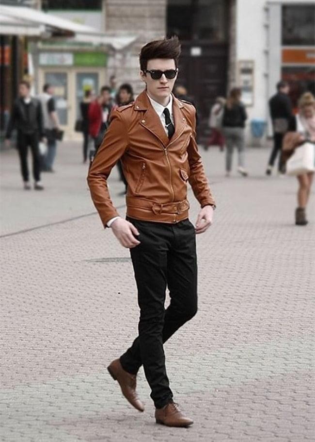 5 como usar jaqueta de couro
