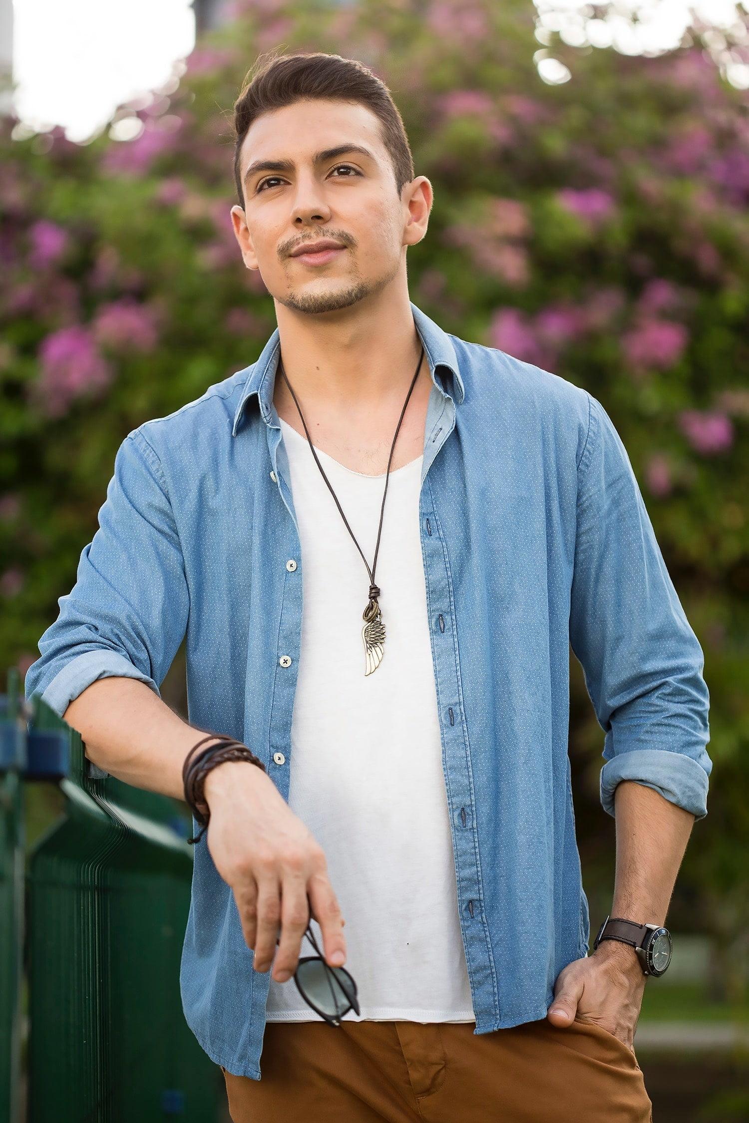 9 Juan Alves poá e chino moda masculina homens que se cuidam