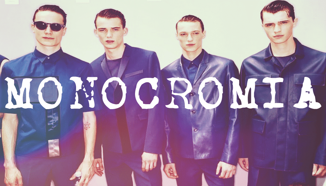 00Monocromia - Homens Que Se Cuidam