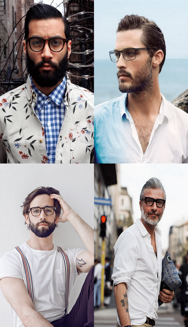 02Streetstyle - Óculos de Grau - Homens Que Se Cuidam