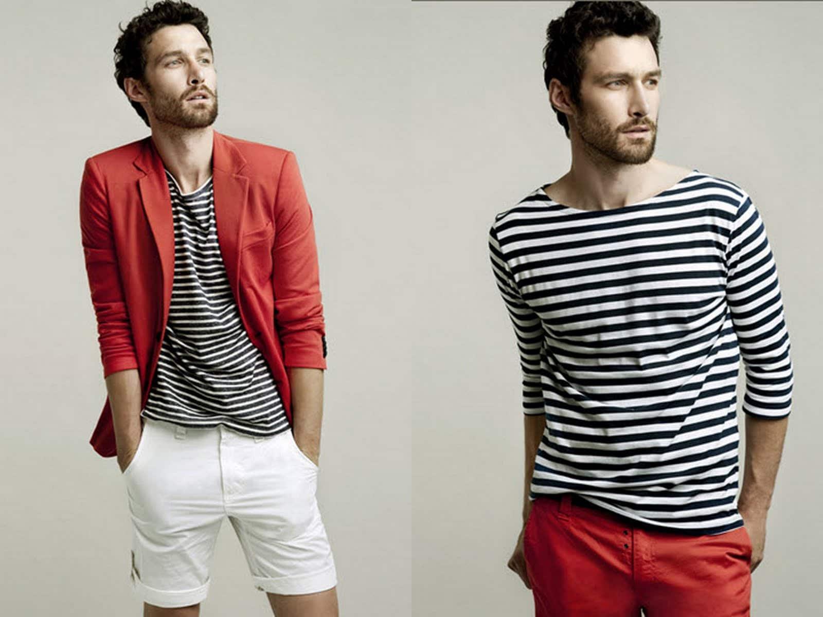 1 look camisas listradas homens que se cuidam