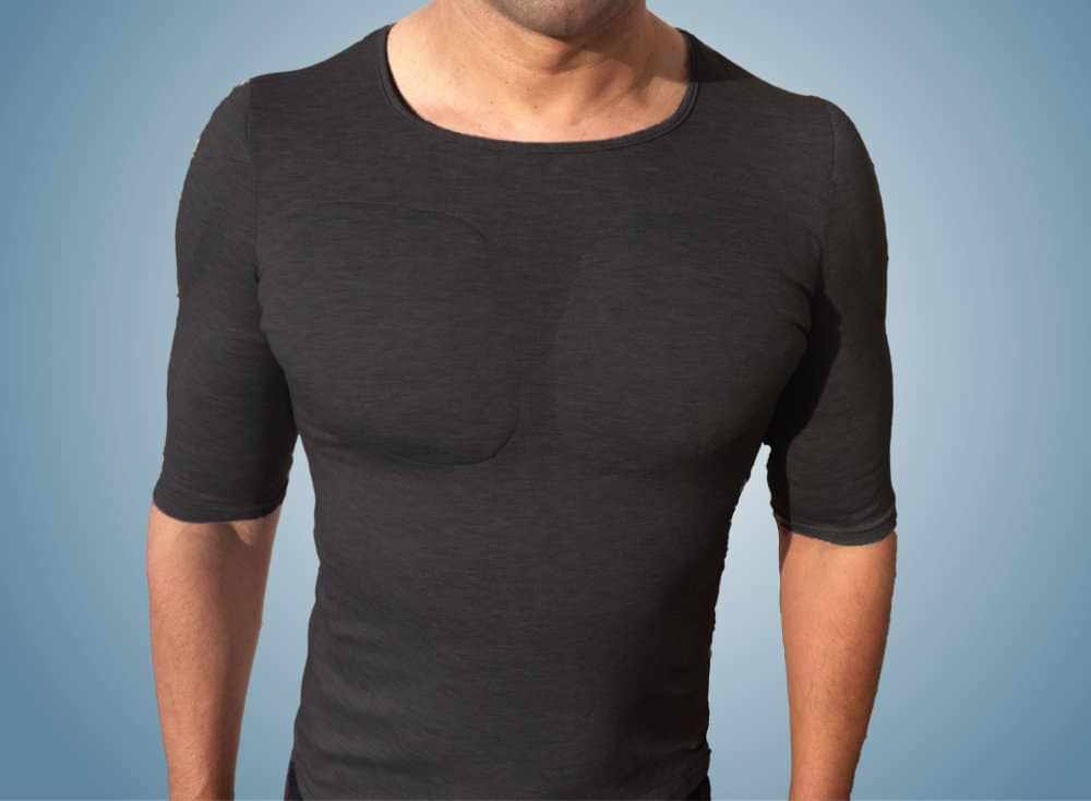 3 Camiseta com enchimento masculina homens que se cuidam