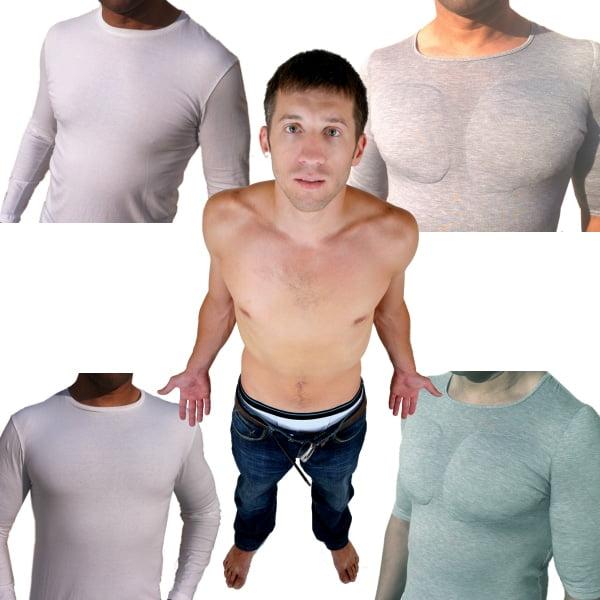 4 Camiseta com enchimento masculina homens que se cuidam