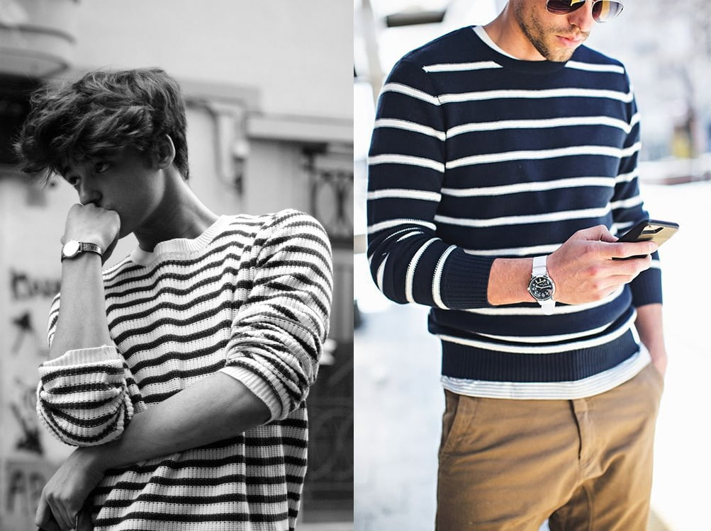4  look camisas listradas homens que se cuidam