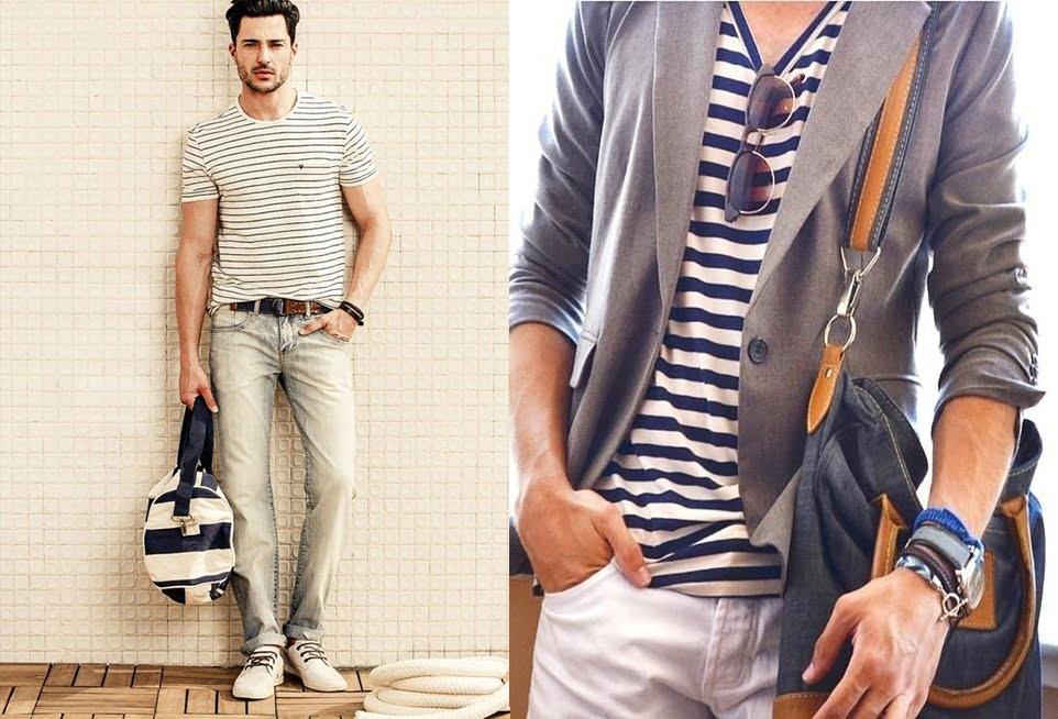 7 look camisas listradas homens que se cuidam