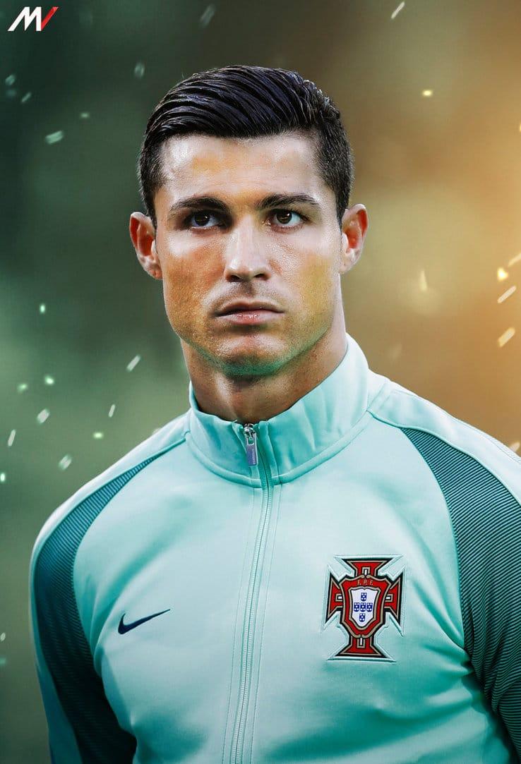 Cristiano Ronaldo 2 jogadores Mais estilosos Eurocopa Homens que se cuidam