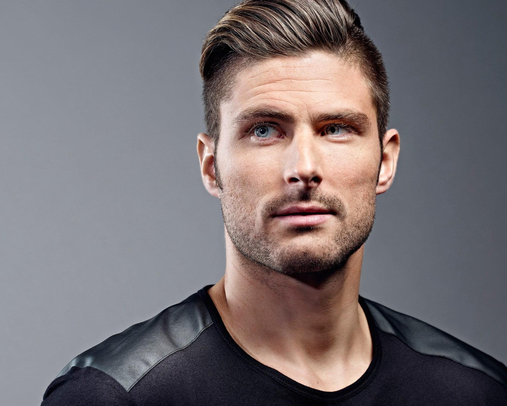 Oliver Giroud Jogadores Mais estilosos Eurocopa Homens que se cuidam