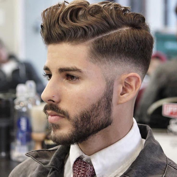 cabelo com barba tendencia para homens 2.