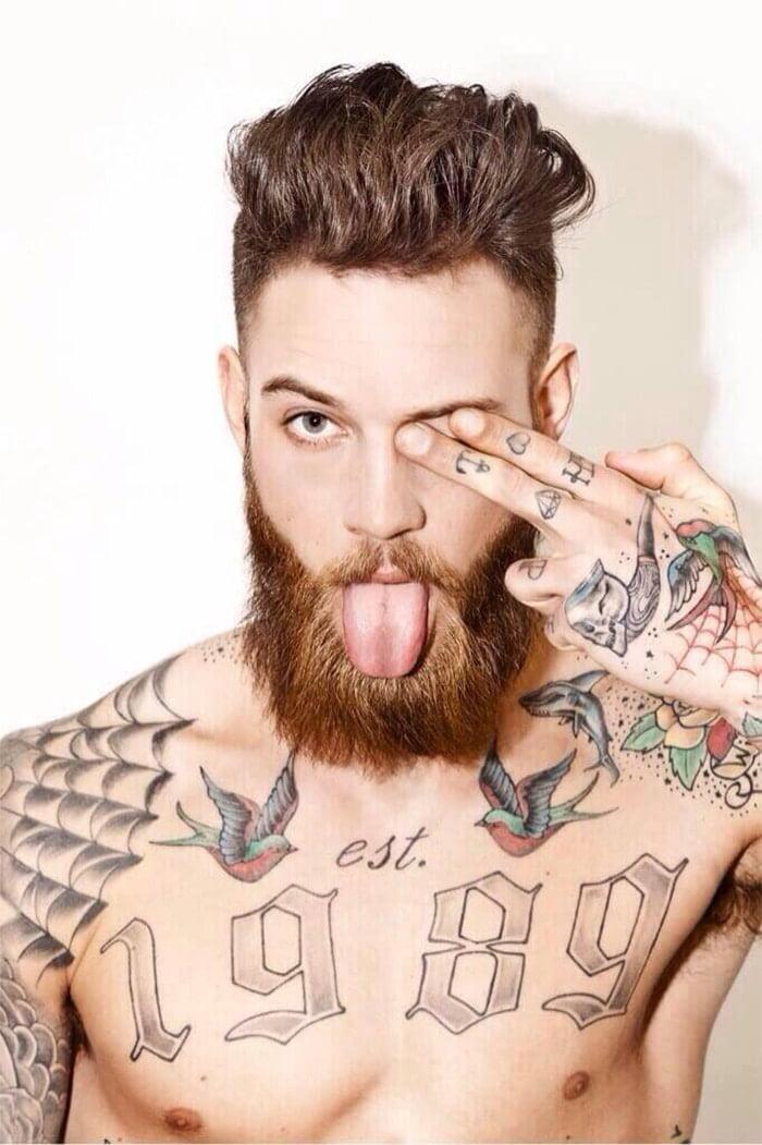 cabelo com barba tendencia para homens 3