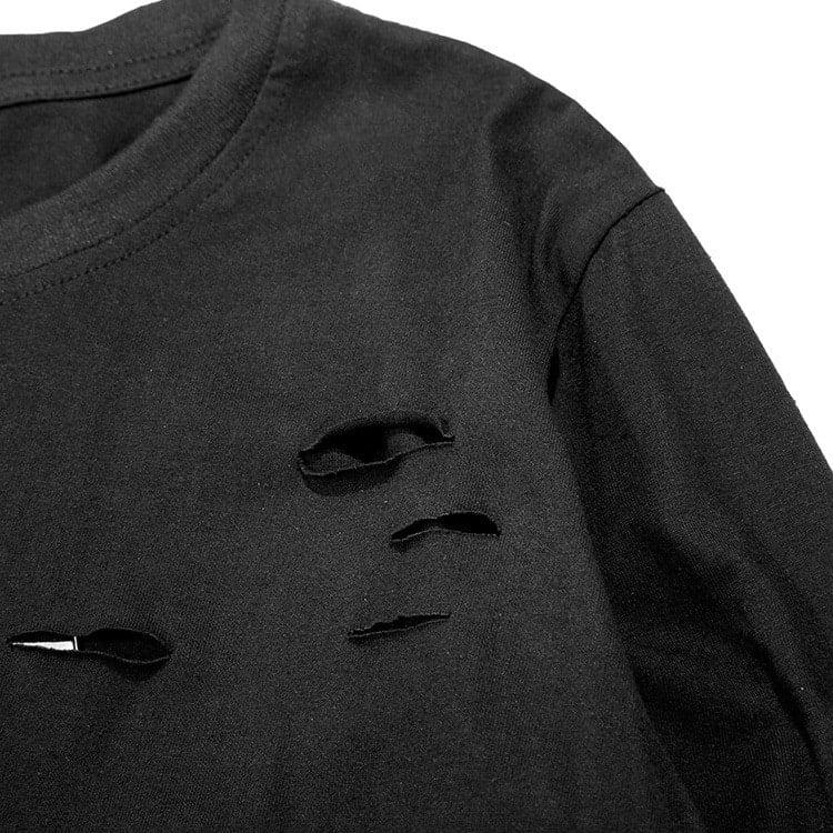 camisa destroyed homens que se cuidam