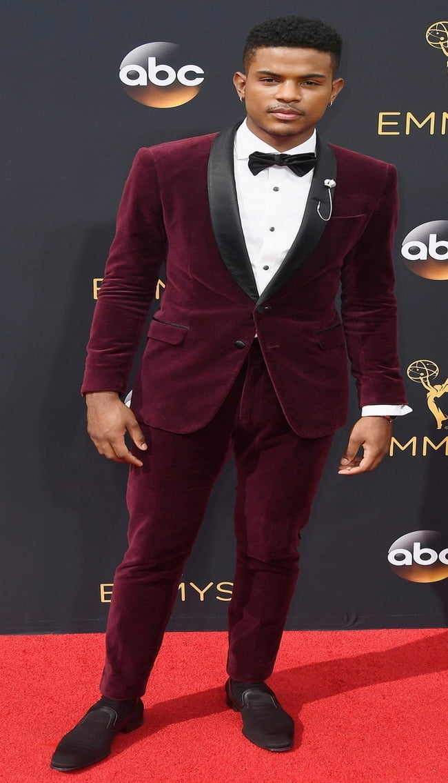 LOS ANGELES, CA - SEPTEMBER 18: Actor/singer Trevor Jackson attends the 68th Annual Primetime Emmy Awards at Microsoft Theater on September 18, 2016 in Los Angeles, California. (Photo by Frazer Harrison/Getty Images)