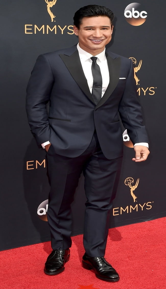 LOS ANGELES, CA - SEPTEMBER 18: TV personality Mario Lopez attends the 68th Annual Primetime Emmy Awards at Microsoft Theater on September 18, 2016 in Los Angeles, California. (Photo by David Crotty/Patrick McMullan via Getty Images)