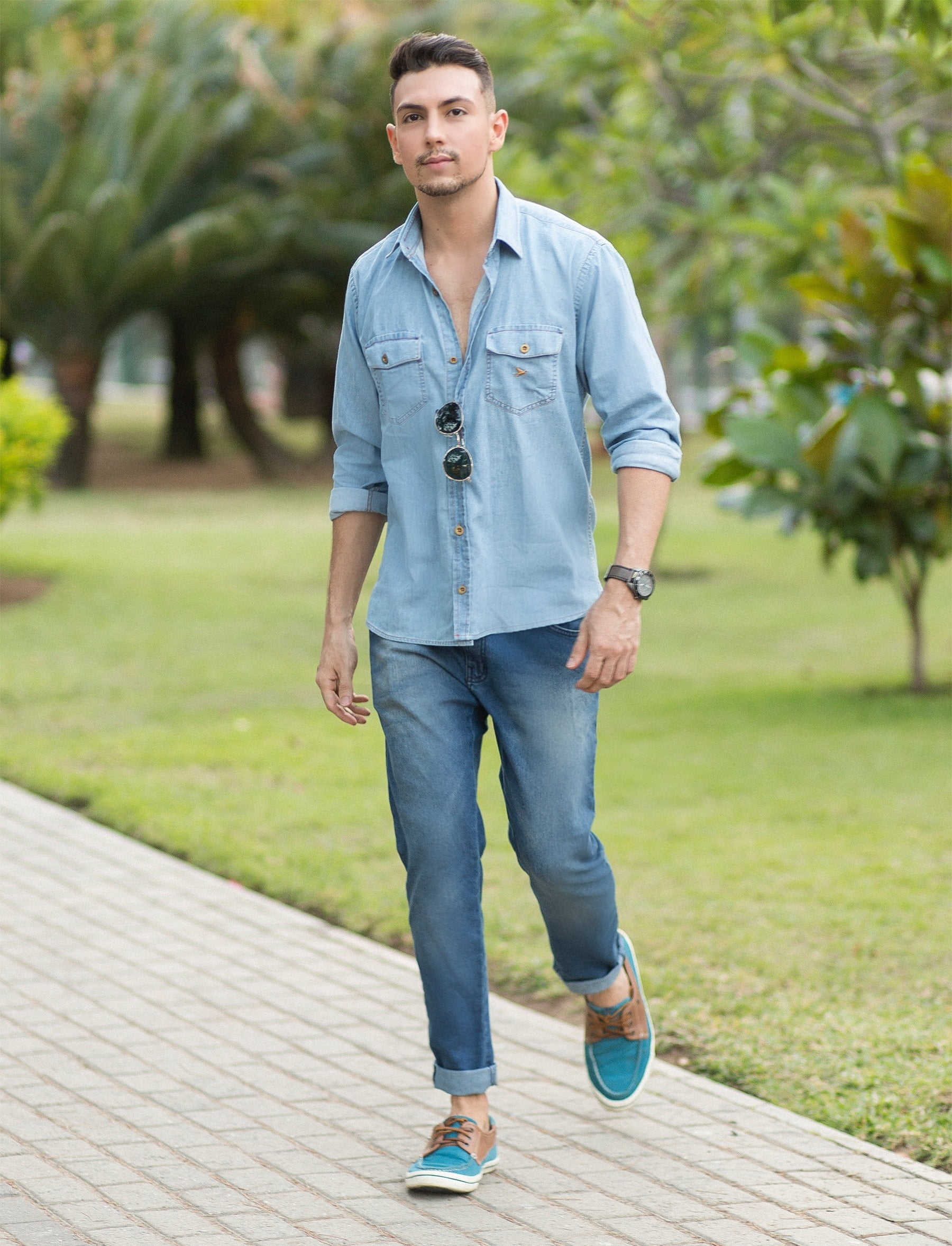 juan-alves-como-usar-camisa-jeans-homens-que-se-cuidam