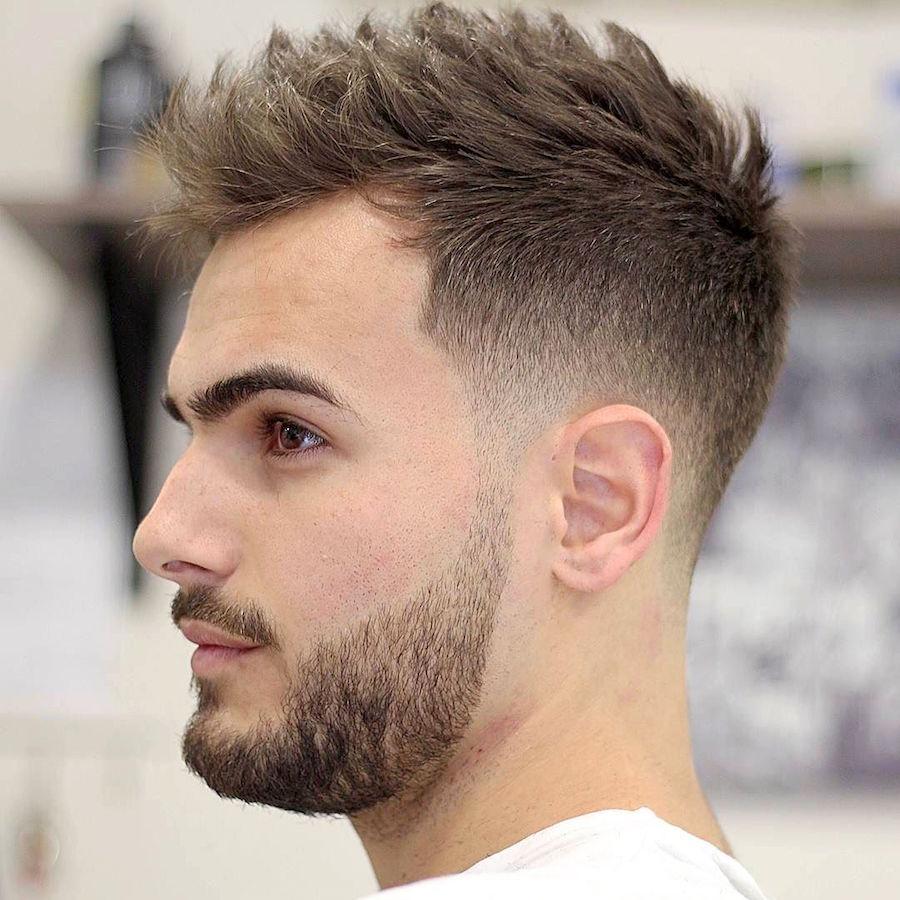 fade, barba e texturizado