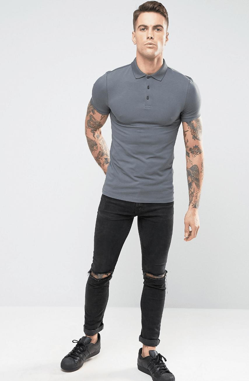 g como usar camisa polo masculina homens que se cuidam