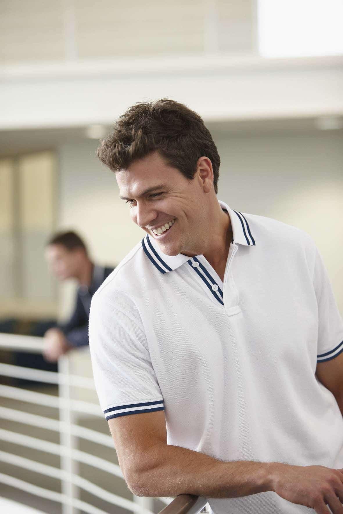 t como usar camisa polo masculina homens que se cuidam