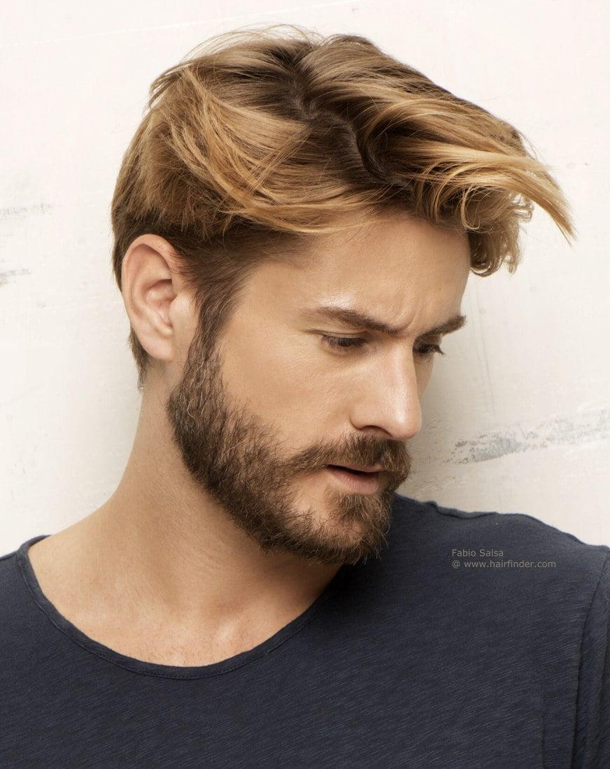 f estilos de barba homens que se cuidam