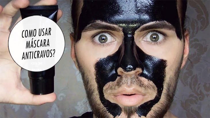 mascara anticravo B para pele oleosa homens que se cuidam e moda masculina