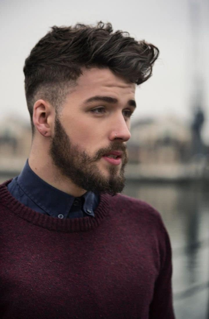p estilos de barba homens que se cuidam