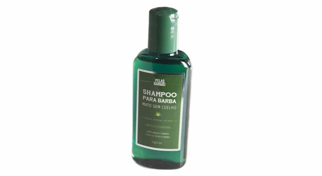 shampoo para barba da Pelas Barbas homens que se cuidam