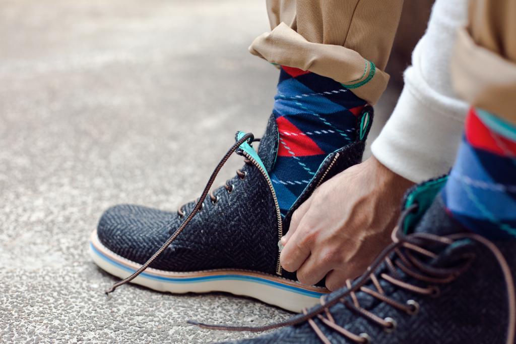 meias coloridas masculina d