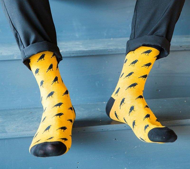 meias coloridas masculina f