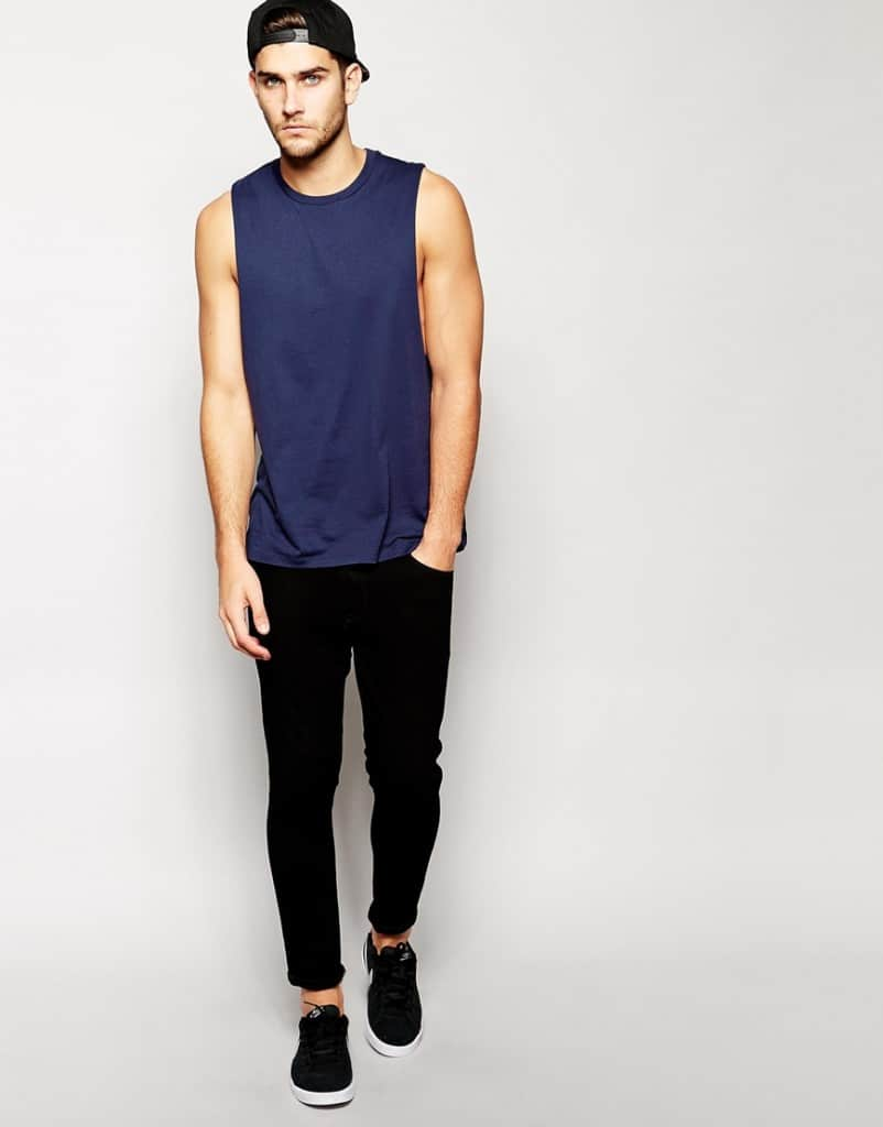 Dropped-Armhole-Sleeveless-T-Shirt-Fashion-Trend-2015-Fashion-Tips-For-Men-2016-4