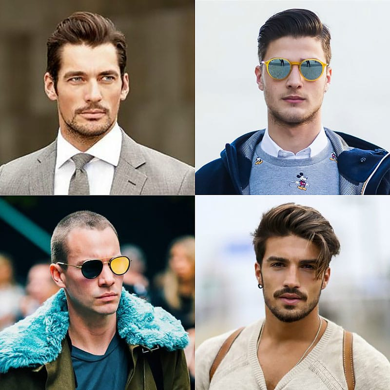 corte de cabelo ideal oval oval homens que se cuidam b