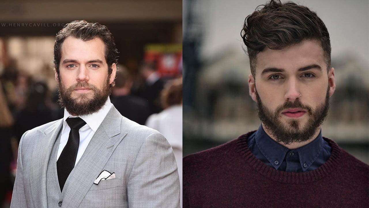 rosto quadrado barba ideal para cada tipo de rosto homensquesecuidam por juan alves
