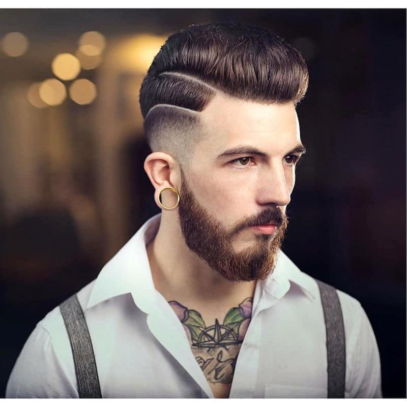 Fashionable hair for men 100