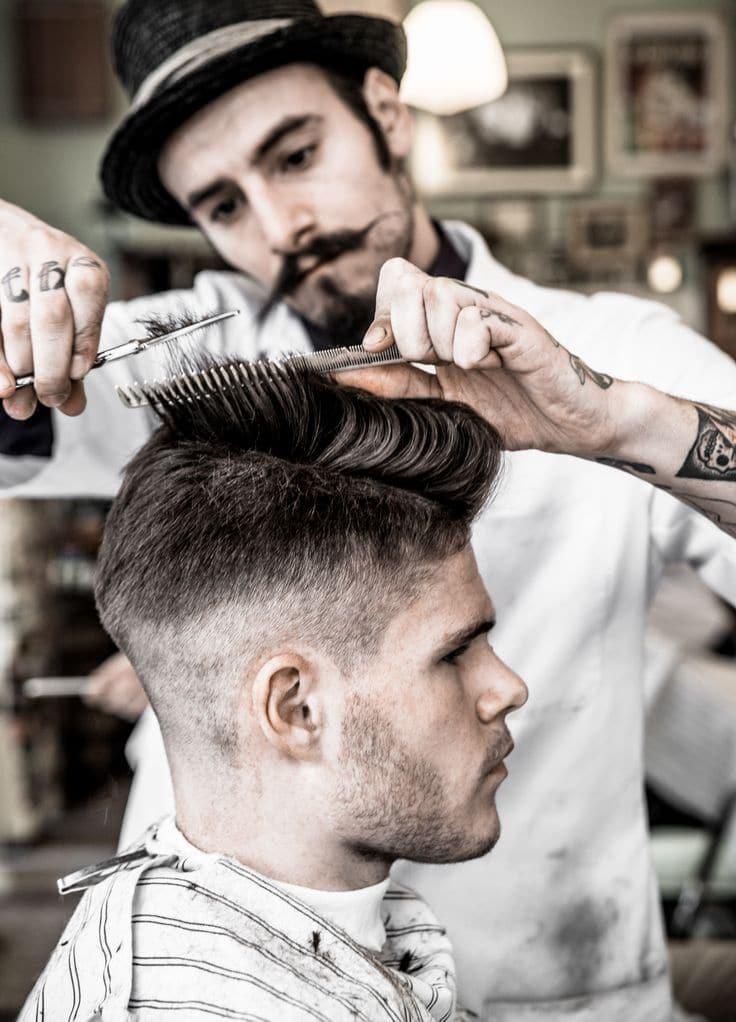 cortes de cabelo masculino para rosto redondo b