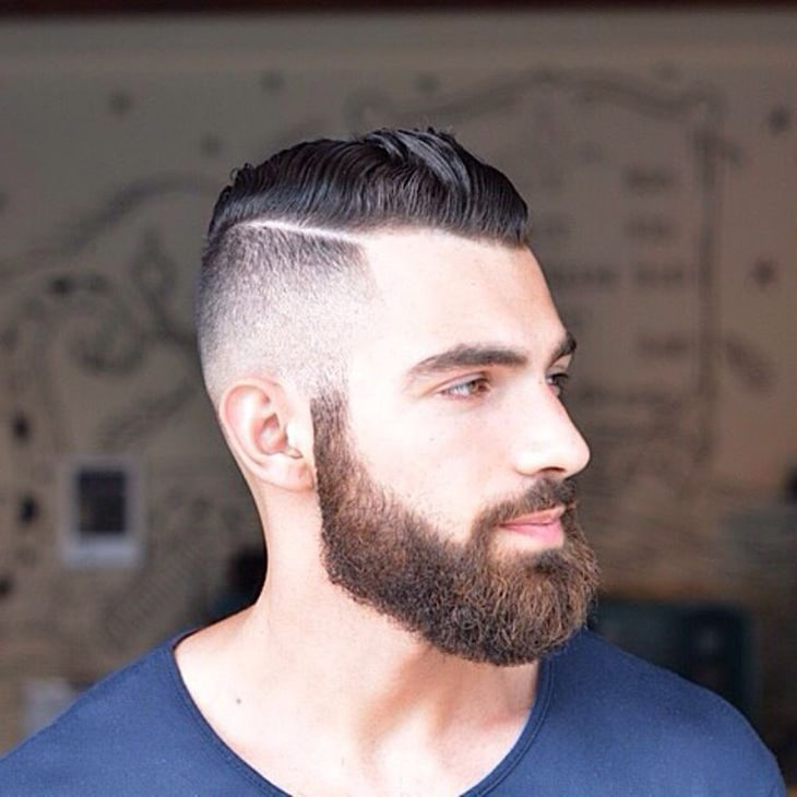 cortes de cabelo masculino para rosto redondo c