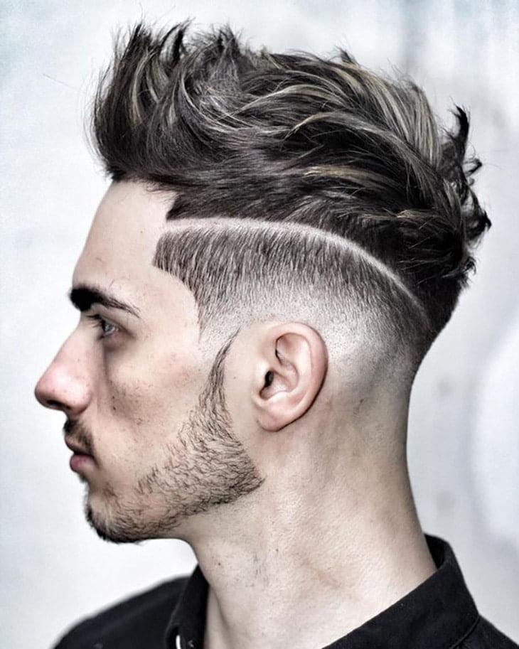cortes de cabelo masculino para rosto redondo d