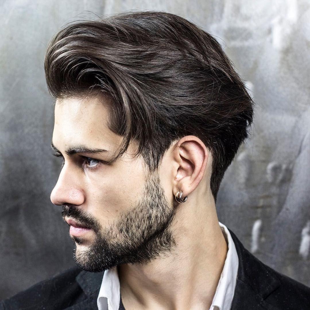 cortes de cabelo masculino para rosto redondo e
