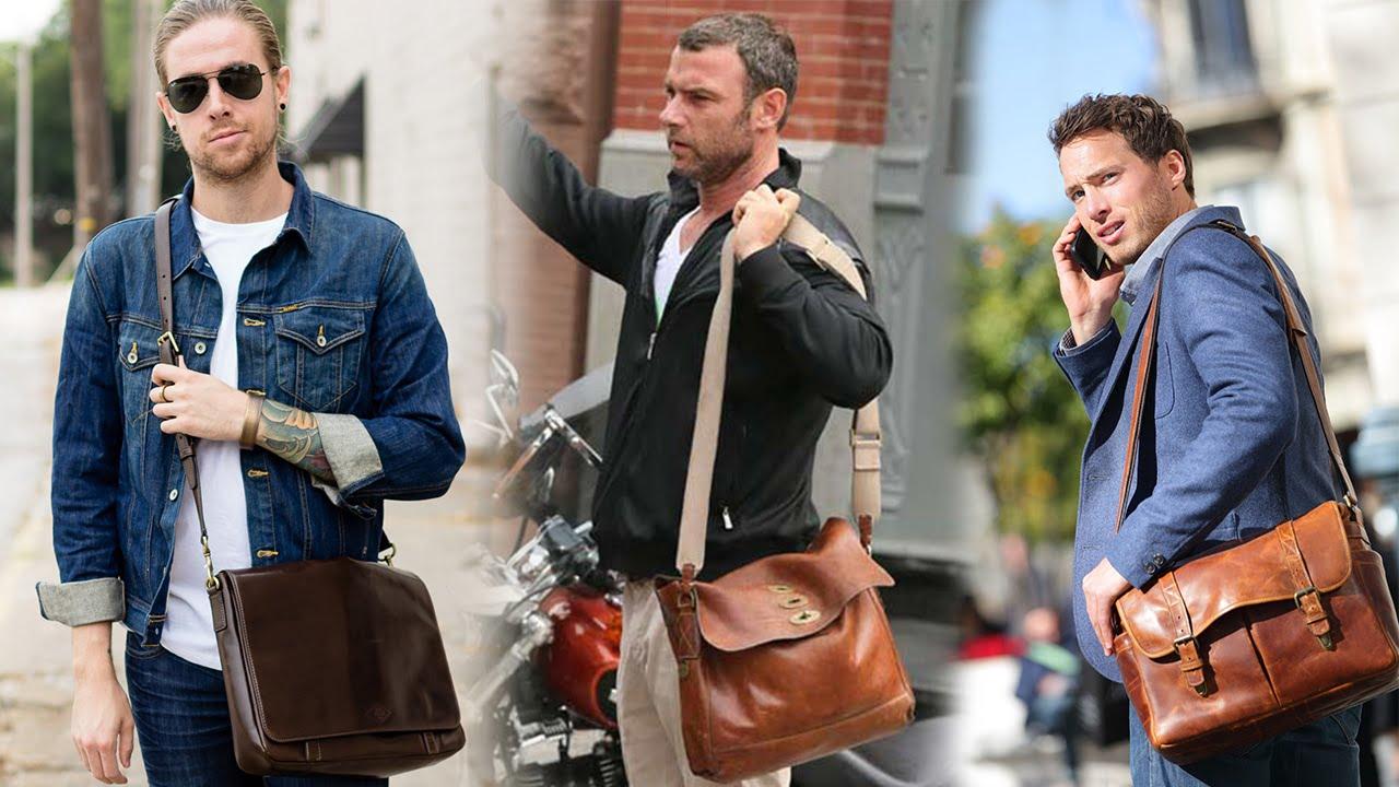 bolsa masculina bolsa carteiro homens que se cuidam b