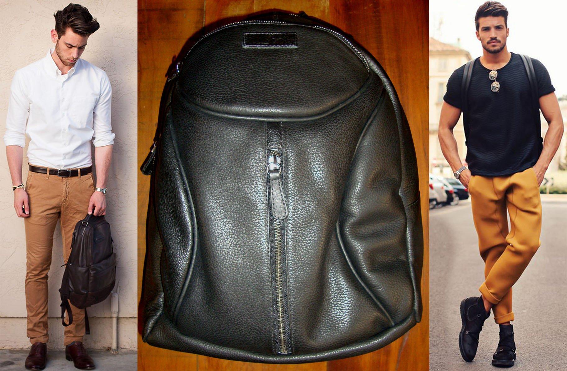 bolsa masculina mochila de costas homens que se cuidam