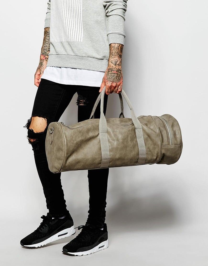 bolsa masculina cilindro homens que se cuidam