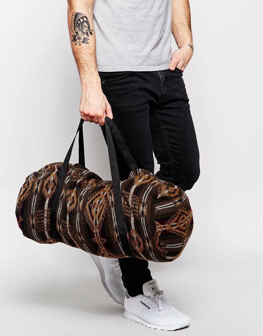 bolsa masculina cilindro homens que se cuidam b