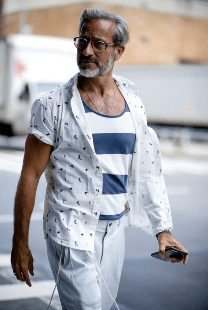 15 Looks de Street Style diretos da Semana de Moda Masculina de New York b