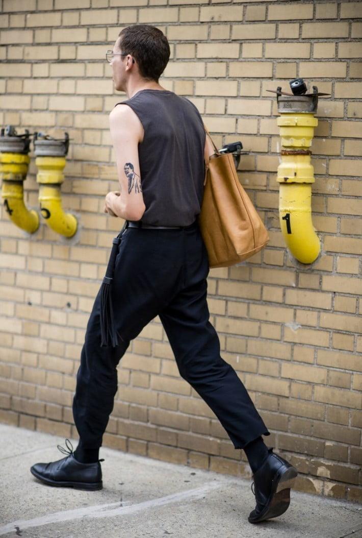 15 Looks de Street Style diretos da Semana de Moda Masculina de New York d d
